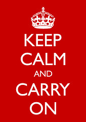KEEP CALM - CARRY ON by John Cooper, on Flickr