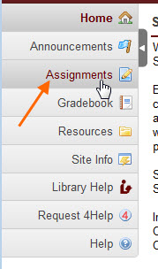 Assignments Tab in Scholar